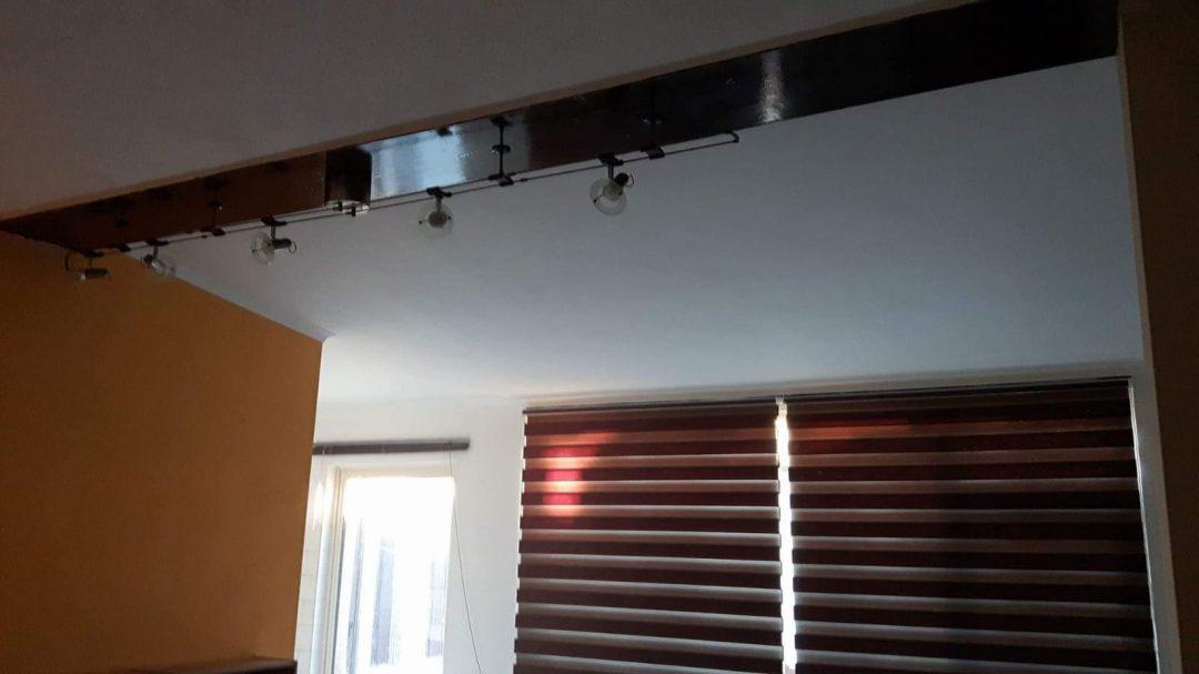 Plafond in woonkamer