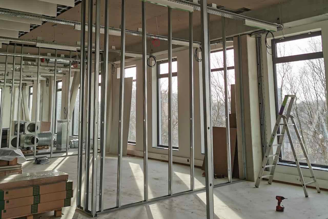 Metalstud wanden, Paul Afbouw Den Bosch